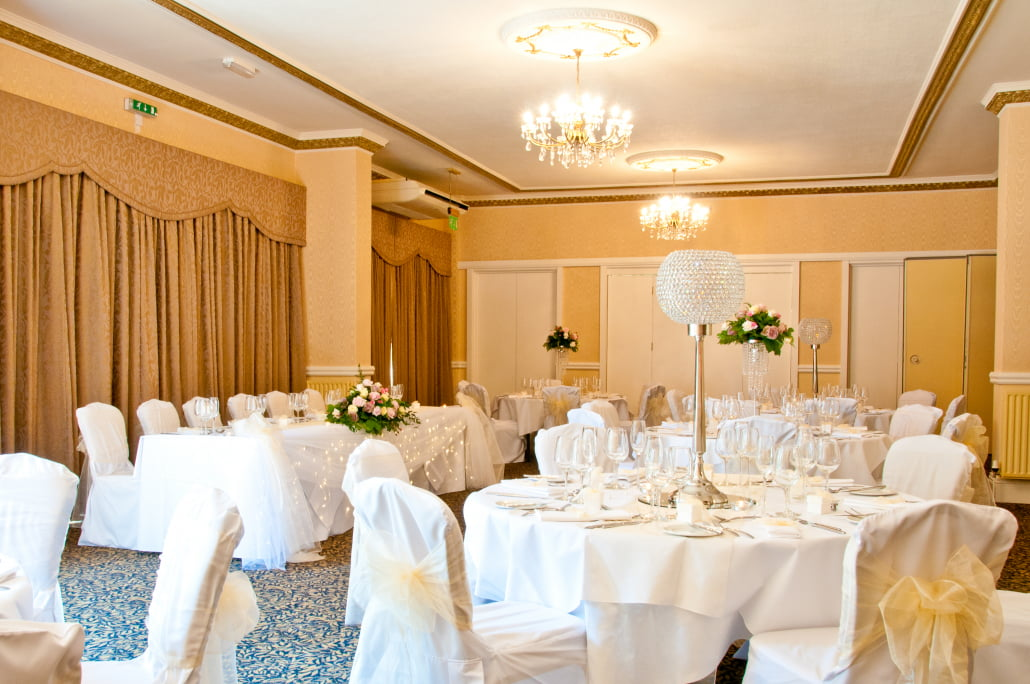 wedding in the churchill suite