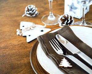 festive lunches at the oaklands hall hotel