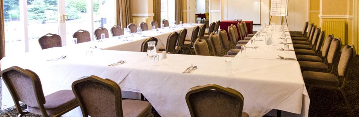 churchill suite meeting room horseshoe set up