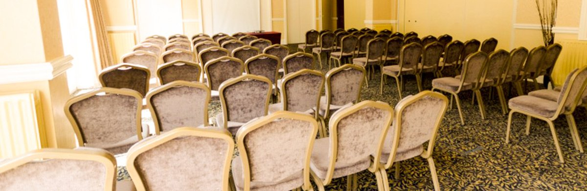 churchill suite theater style conference set up