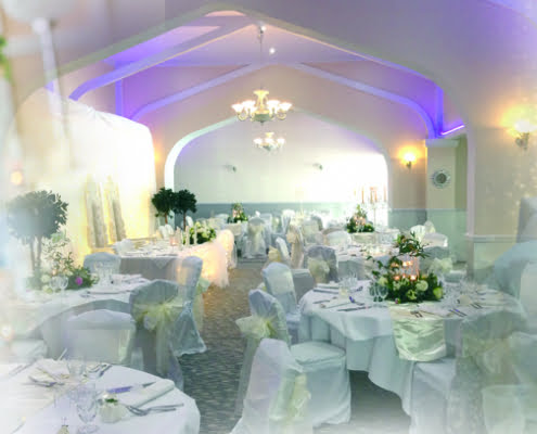 wedding in the garden room