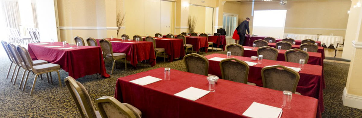 churchill suite meeting room training set up